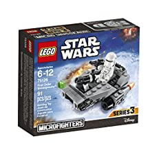 LEGO Star Wars First Order Snowspeeder Building Kit (91 Piece)