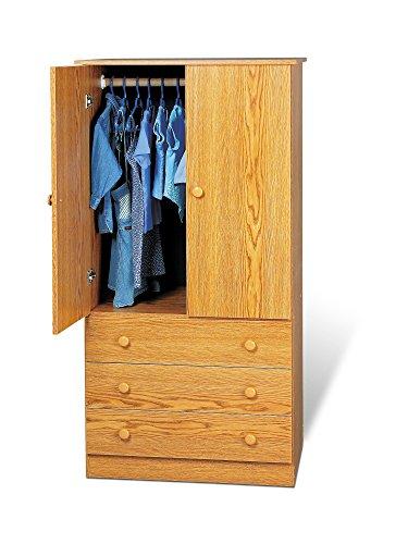 Door 3 Drawer Wardrobe - 3