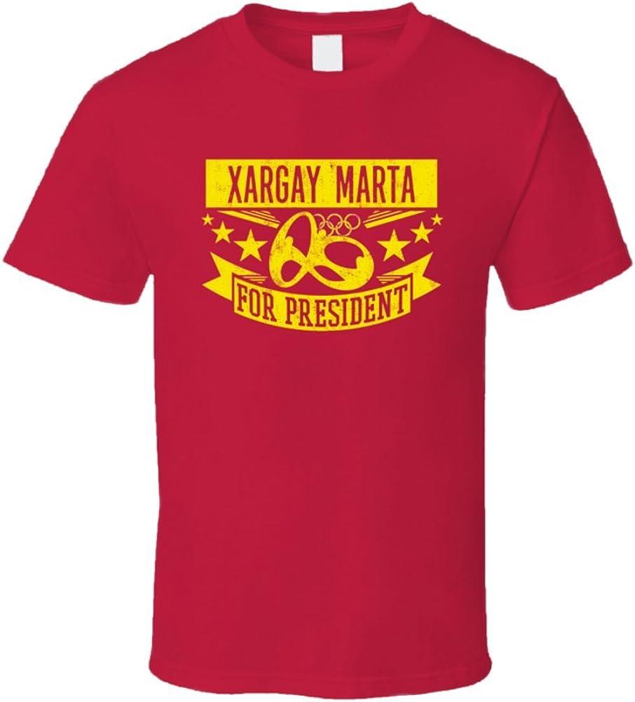 Xargay Marta para Presidente España Baloncesto T Shirt: Amazon.es: Ropa y accesorios