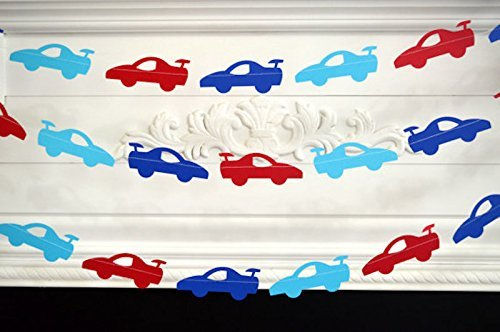 Race Car Birthday Decorations Baby Boy First Garland 1st Loading Images