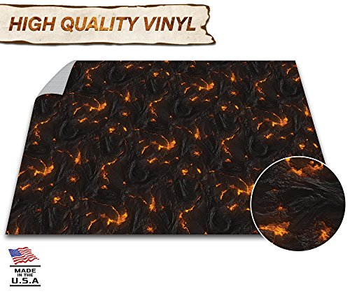 Battle Game Mat - 48'' x 48'' - Role Playing Game Map - DND 40k Wargaming Role Play Mat - RPG Dust Warefare & Flames of War - Reusable Miniature Figure Board Games - Warhammer Gaming Vinyl by Evolve Skins