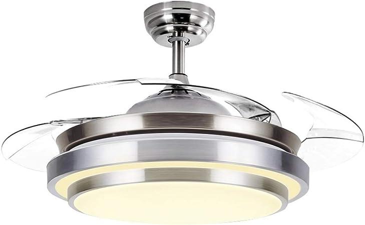 NIUZIMU Ventilateurs de Plafond avec Lampe, Suspension de