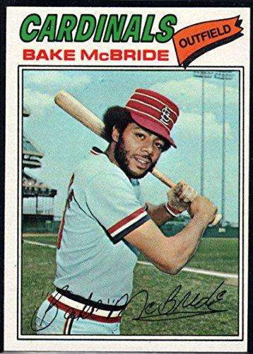 Baseball MLB 1977 Topps #516 Bake McBride Cardinals