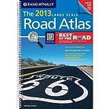 USA, Large Scale Road Atlas, 2013 (Rand Mcnally Large Scale Road Atlas USA) Spiral Edition by Rand McNally and Company [2012]
