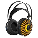 Gaming Headset with Unique Metal Diaphragm and Mic,Provides Excellent 7.1 Virtual Surround Stereo Sound for PC Laptop PlayStation 4 X-box one(Splitte Included)