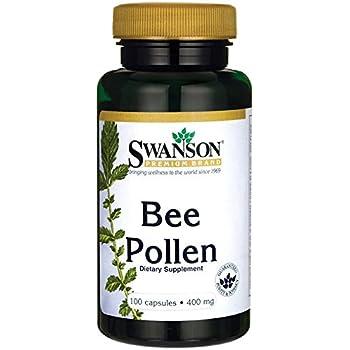 Amazon.com: Now Bee Pollen 500 mg,100 Capsules: Health