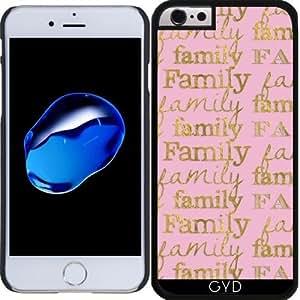 Funda para Iphone 6 Plus (5,5'') - La Hoja De Oro Familiar En Rosa by UtArt