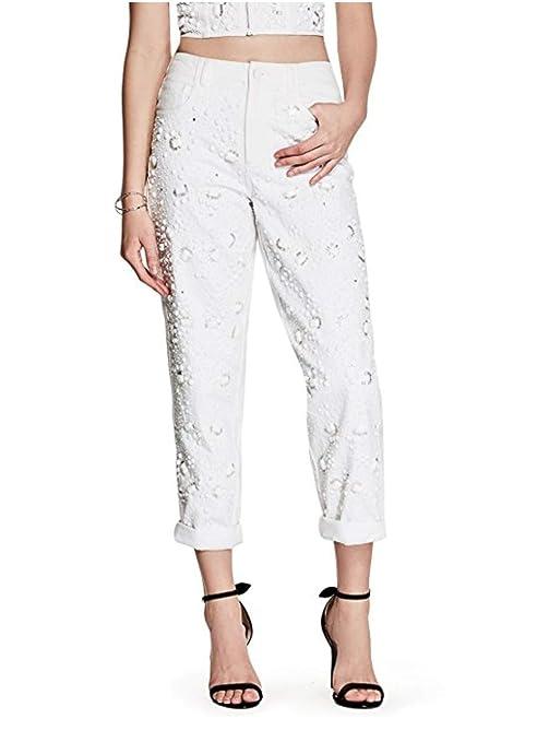 Amazon.com: GUESS Sabrina - Pantalones de mujer con adornos ...