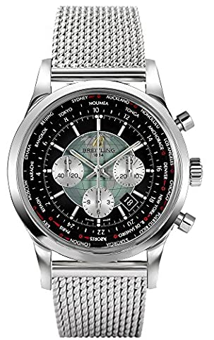 Breitling Transocean Chronograph Unitime Mens Watch Ab0510U4/BB62 (Breitling Transocean Unitime)