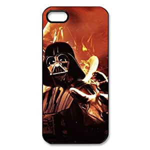 Custom Star Wars Hard Back Cover Case for iPhone 5,5S TPU (Laser Technology)