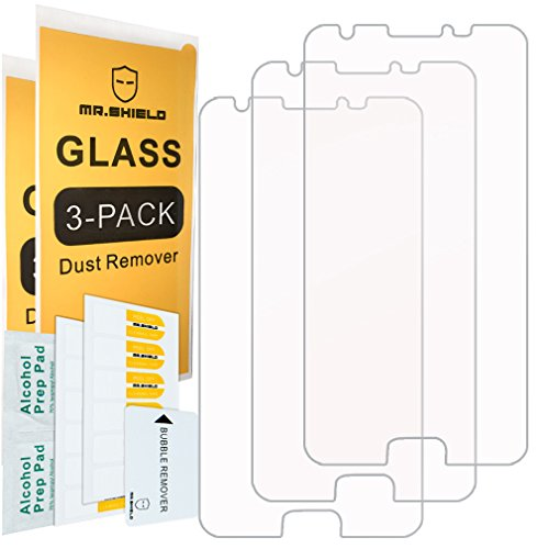 ([3-Pack]- Mr.Shield for Samsung Galaxy J3 Eclipse [Tempered Glass] Screen Protector [Japan Glass with 9H Hardness] with Lifetime Replacement)