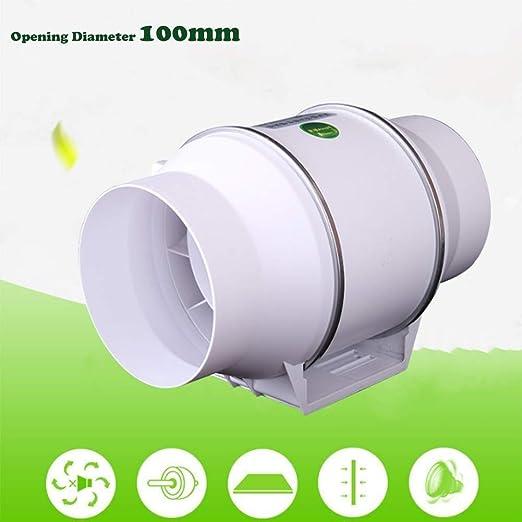 Extractor De Aire del Ventilador del Ventilador Ultra Silencioso Inicio Mini Ventilador Axial De Ahorro De Energía De Ventilación del Ventilador 4 Pulgadas ZHAOSHUNLI 1125: Amazon.es: Hogar