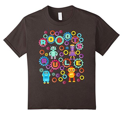 kids robot shirt - 7