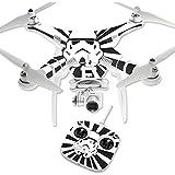 MightySkins Protective Vinyl Skin Decal for DJI Phantom 3 Standard Quadcopter Drone wrap cover sticker skins Star Rays