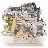 edelbrock carburetor cover - Edelbrock 1405 Performer 600 CFM Square Bore 4-Barrel Air Valve Secondary Manual Choke New Carburetor