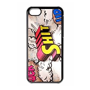 TYHde Cheap phonecase, Funny quotes, Fuck shit up picture for black plastic ipod Touch4 case ending