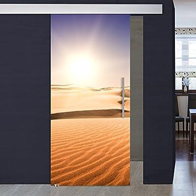 Cristal de puerta corredera con impresión digital 1049-1-ALU60-GS - 1025 x 2050 x 8