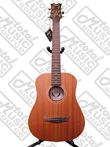 Dean FLY MAH Flight Series 3/4 Size Travel Acoustic Guitar, Mahogany