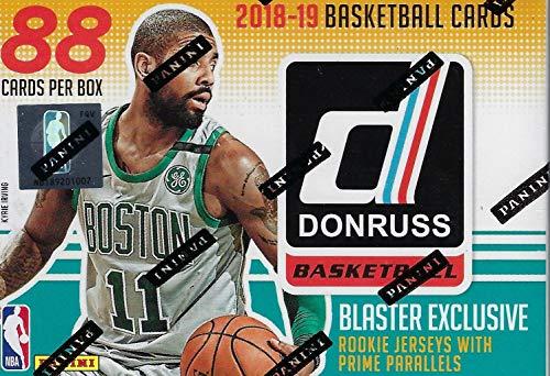 2018/19 Panini Donruss Basketball NBA RETAIL BLASTER Box - 11 Packs 88 Cards -1 Memorabilia or Autograph FACTORY SEALED -