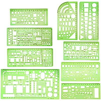 boao-9-pieces-geometric-drawing-templates