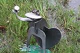 Heavy duty metal frog statue