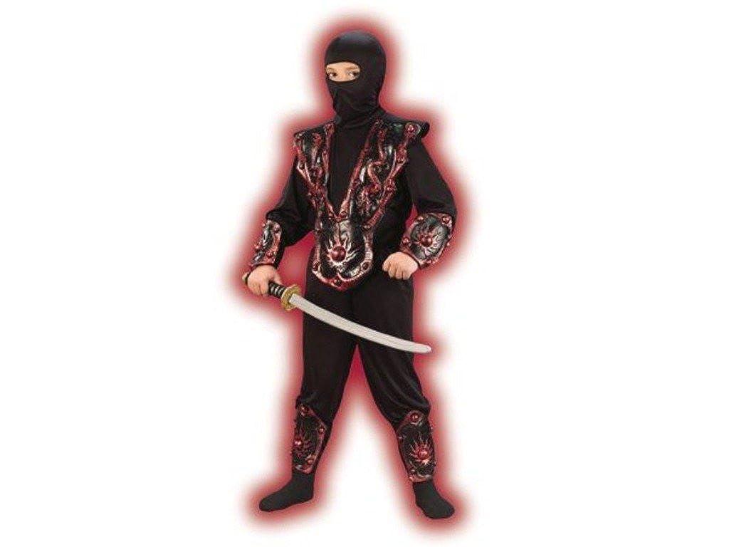 Amazon.com: Wal-Mart Stores Inc. Boys Red Ninja Fighter ...