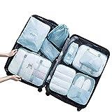 9-Piece Travel Storage Bag Trunk Underwear Storage Bag Sorting Bag Travel Clothing Clothing Storage Bag Set