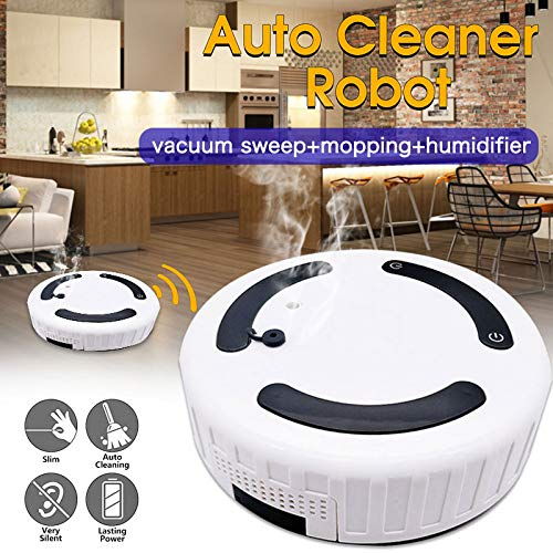 2019 Humidifier Auto Cleaning Robot Auto Sweeping Robot Rechargeable Household Smart Vacuum Cleaner for Sweeper
