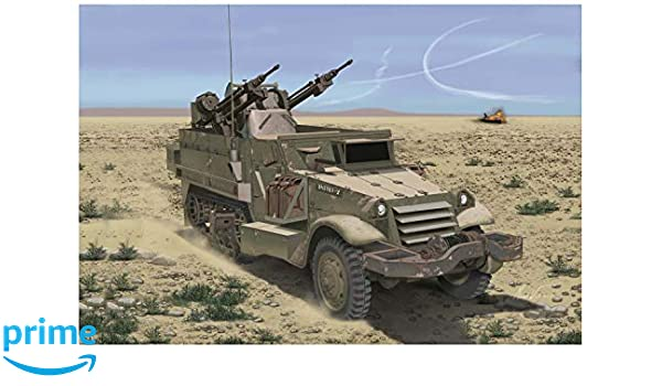 Amazon com: Dragon Models 1/35 IDF M3 Halftrack with TCM-20