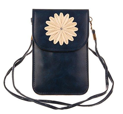 Flower Mini Leather Shoulder Bag - 7
