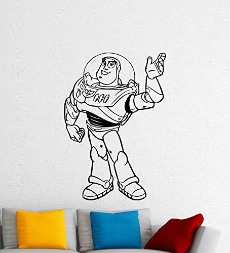 Andre Shop Buzz Lightyear Toy Story Wall Decal Disney Cartoons Sheriff Woody Buzz Lightyear Jessie Slinky Dog Vinyl StiSX6ce