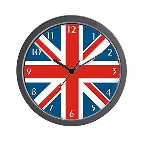 British Clock - CafePress British Flag Wall Clock Unique Decorative 10