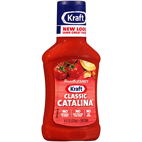 Kraft Classic Catalina Dressing, Rich and Tangy, 8 oz (Kraft Catalina Dressing)