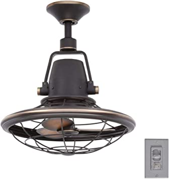 Home Decorators Collection Bentley Ii 18 Inch Indoor And Outdoor Tarnished Bronze Oscillating Ceiling Fan With Wall Control Ceiling Fans Amazon Canada