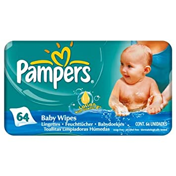 Pampers Baby Fresh - Toallitas húmedas (12 x 1 x 64 mm): Amazon.es: Hogar