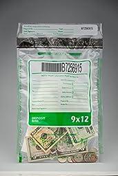 Tamper Evident Deposit / Cash Bags, 9\