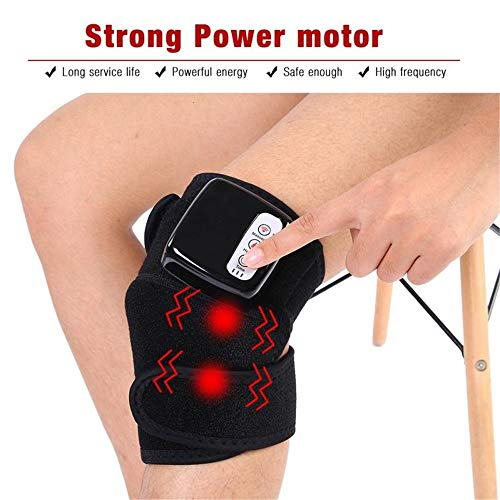 c5ead6c930a5 ZQG BEAUTY Heated Knee Joint Support electrotherapy Treatment Heating pad  Rechargeable to Relieve Knee Pain Massager