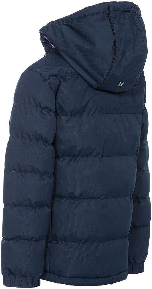 11//12 Years Navy Trespass Kids Boys Tuff Padded Winter Jacket