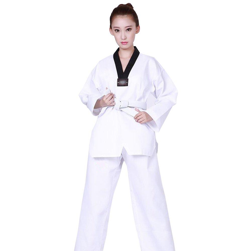 Amazon.com: BOZEVON Unisex Shorts Sleeve/Long sleeve Karate ...