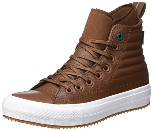Converse Unisex Adults' Chuck Taylor CTAS Wp Boot Hi Low-Top Sneakers, Multicolour (Dark Clove/Dark Atomic Teal 288), 11 UK