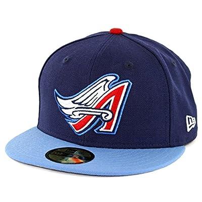 New Era 59Fifty Anaheim Angels Cooperstown 1997 Fitted Hat (Dark Navy) MLB Cap