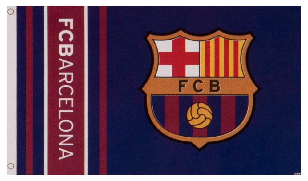 F.C Barcelona Flag WM Official Licensed Product
