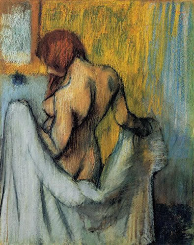 Edgar Degas - Woman with a Towel Drawing - Pastel Metropolitan Museum of Art - New York, NY 30