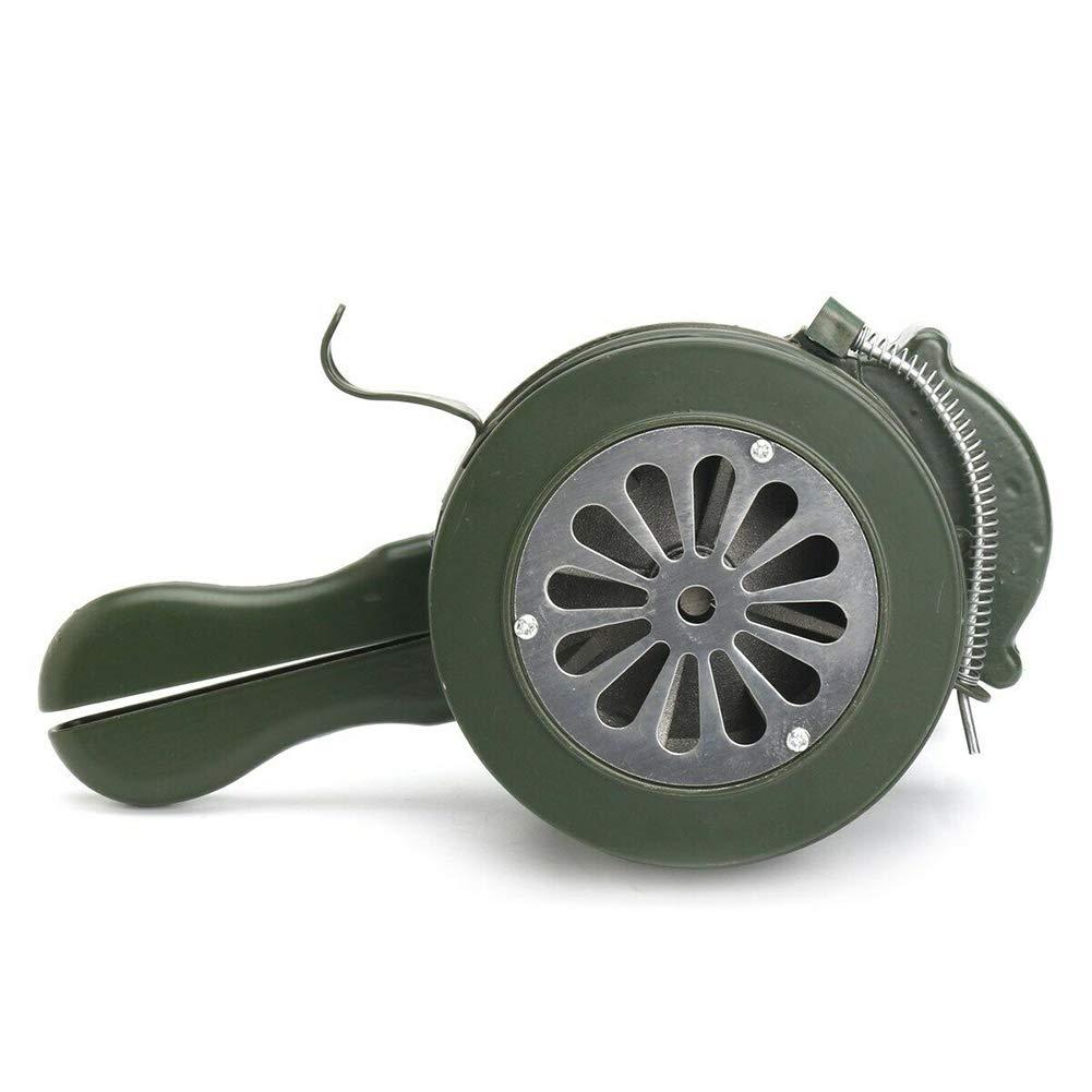 Seguridad de Emergencia Alarma de Metal de Emergencia Bocina de Sirena LOL lo de manivela Manual de 110 dB