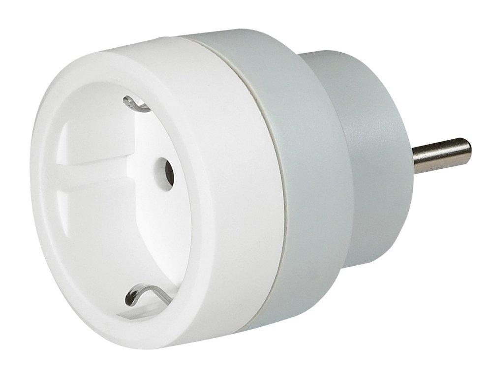 Legrand - LEG50382 - Adaptateur 2P + T 16A - Allemand pour Socle FR