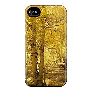 New Cute Funny Beautiful Autumn In The Park Case Cover/ Iphone 4/4s Case Cover