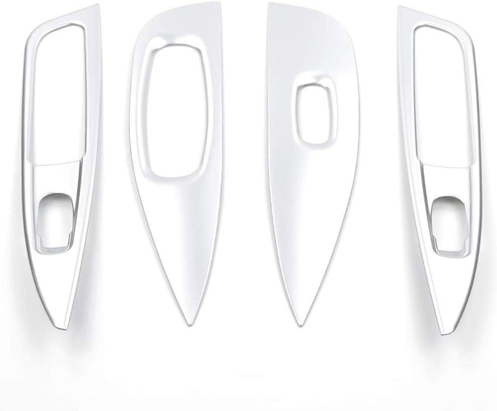 LIANGYUXIA 4pcs Auto Fensterheber Panel Schalter Abdeckung Verkleidung Dekoration Innenleisten F/ür Nissan Qashqai j11 Dualis Zubeh/ör 2019
