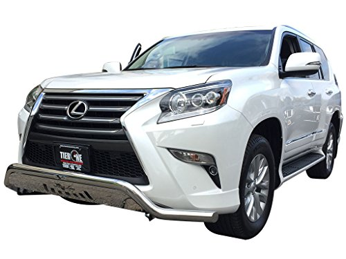 VANGUARD VGUBG-1298SS 2014-2017 Lexus GX460 Front Low Bull Bar With Skid Plate (Lexus Grill Guard)
