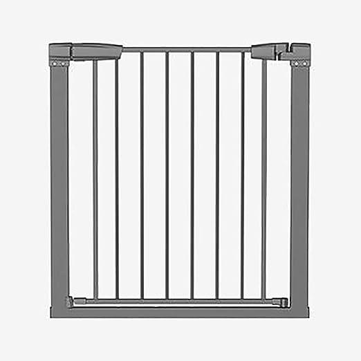 LIZIWL Barreras para Puertas y escaleras Puerta de Seguridad para niños Barandilla de Escalera Valla para Perros Valla para Perros Puerta de Aislamiento 76-83cm Negro: Amazon.es: Hogar