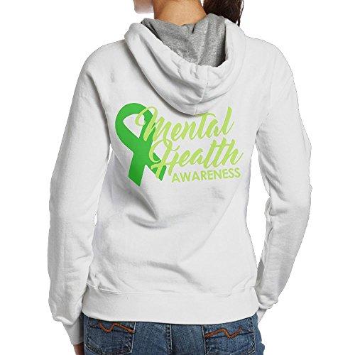 Women's Mental Health Awareness Ribbon Sweater,Long Sleeve Hoodie For Woman]()